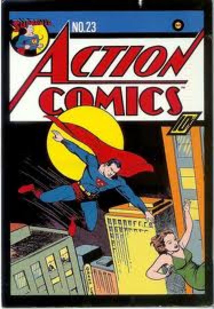 Action Comics # 23