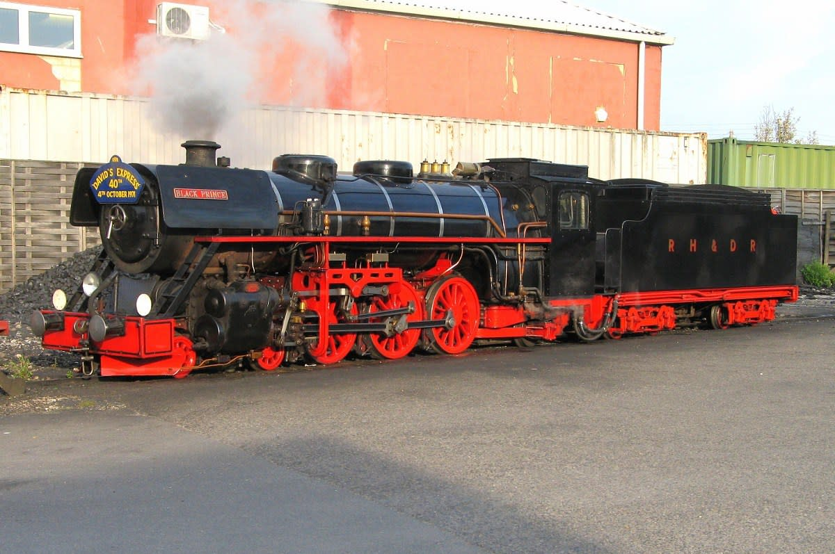 Loco no.11 Black Prince
