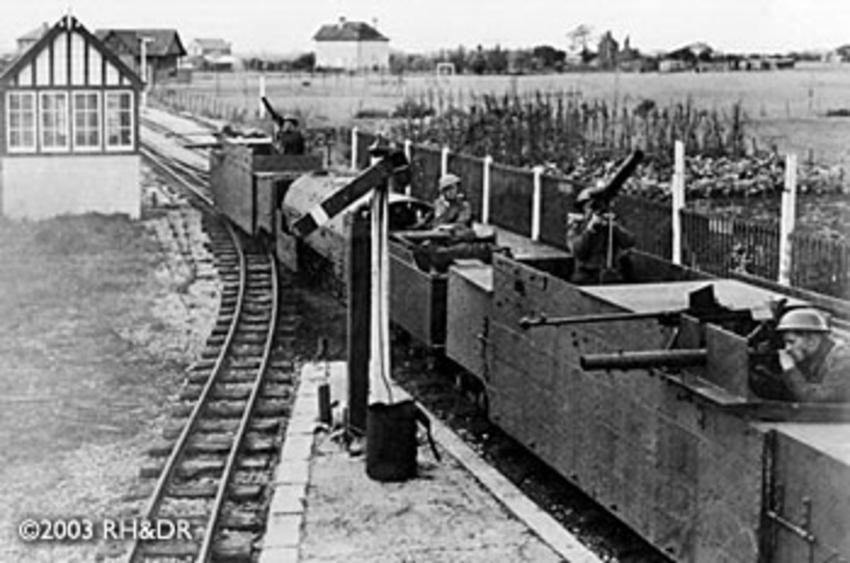 Further view of the armoured train