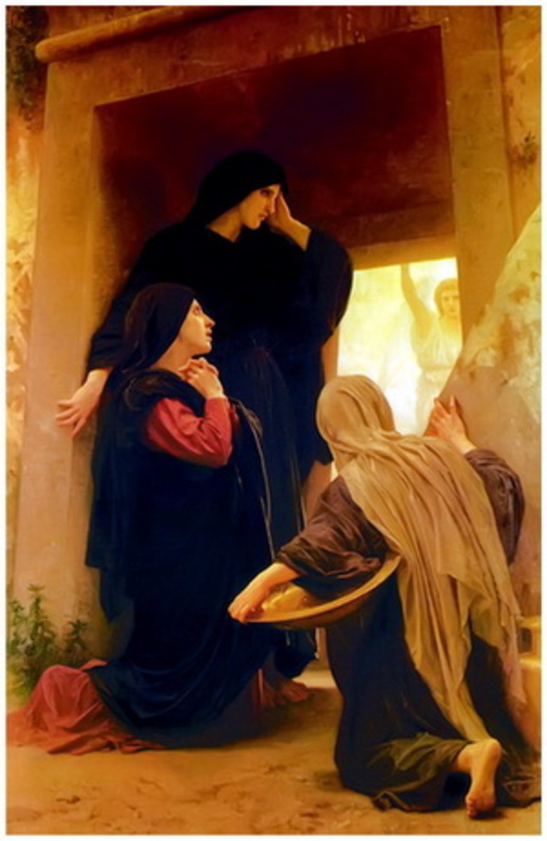 After the Sabbath, as the first day of the week began to dawn, Mary Magdalene and the other Mary came to see the tomb.                             (Matt 28: 1)