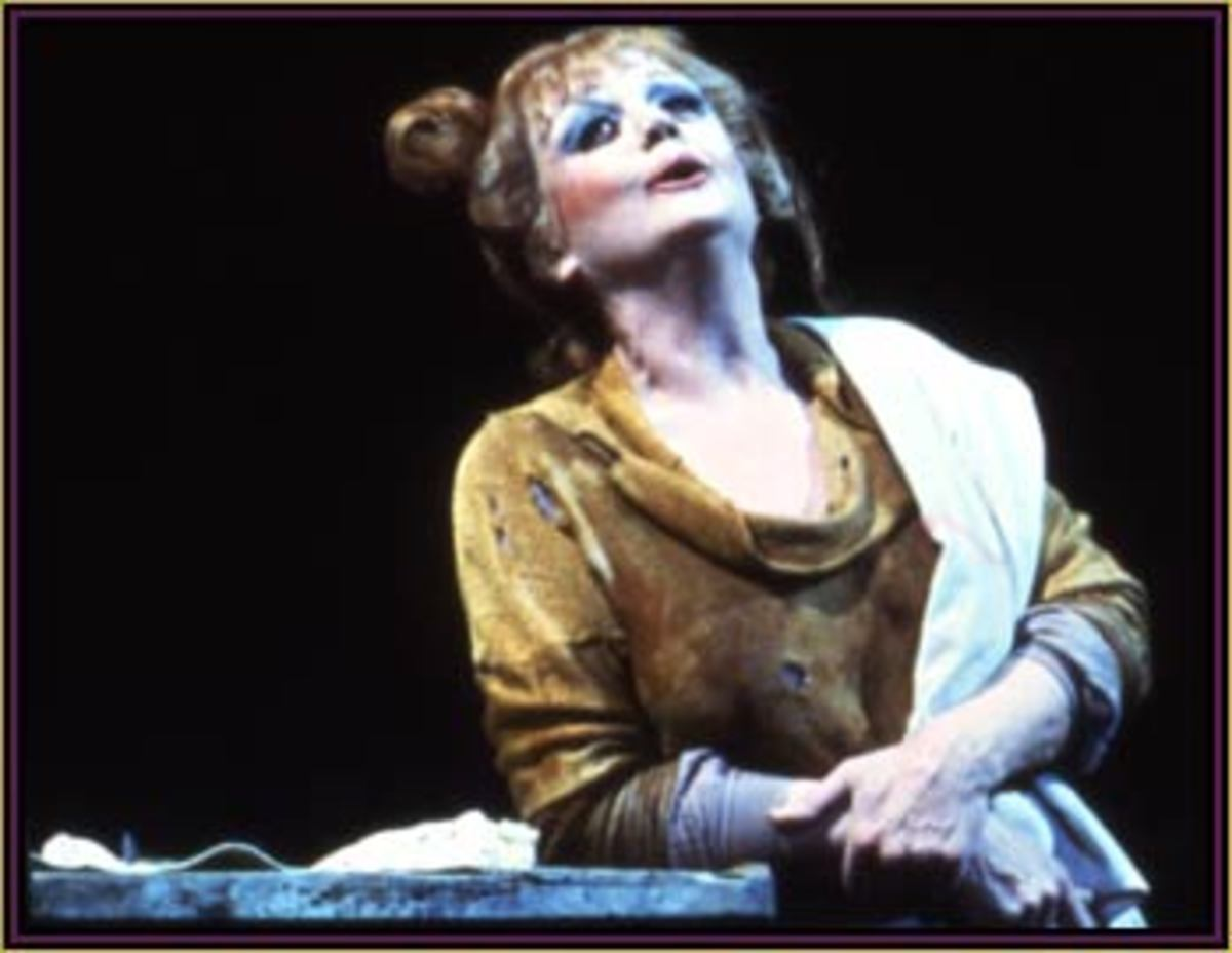 Angela Lansbury as Mrs. Lovett in Sweeney Todd.