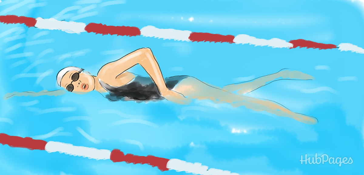 swimming to increase height