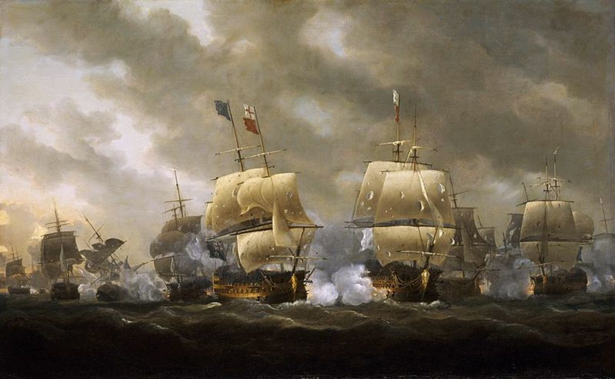 Fought in choppy waters off the coast of Brittany in 1759, Admiral Edward Hawke's victory shattered French naval power and ended plans for an invasion of Britain.