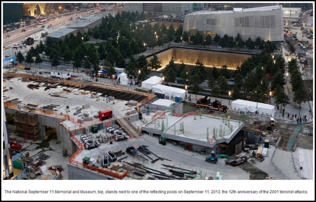 Ground Zero on September 11, 2013