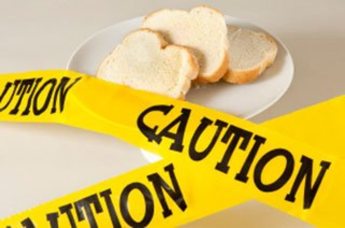 Most breads and flour products have gluten