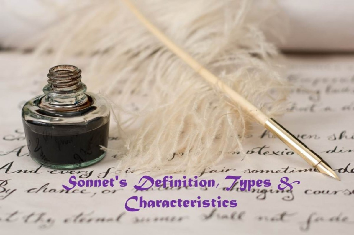 What is Sonnet? Definition, Types and Examples of Sonnet