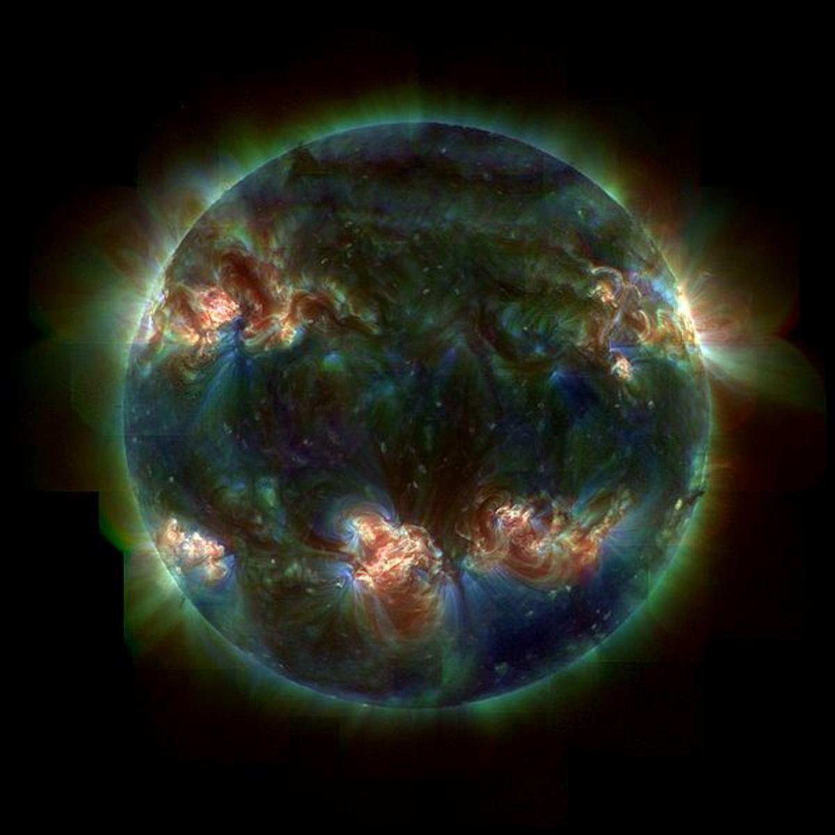 UV Sun Trace (public domain)