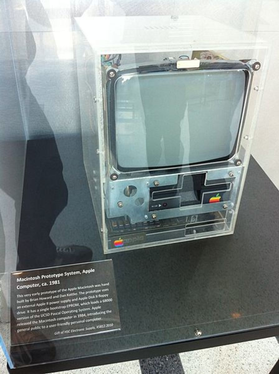 Early Prototype of Macintosh, 1981