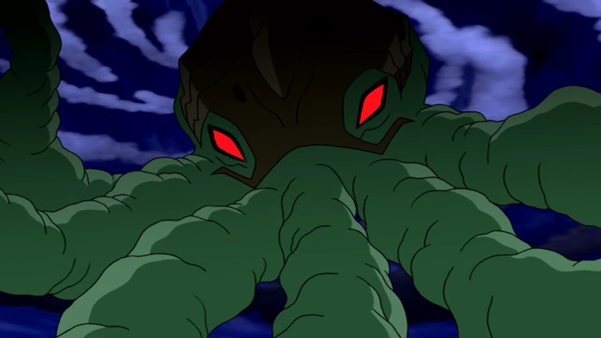 Diagon in ben10 an octopus like slave master