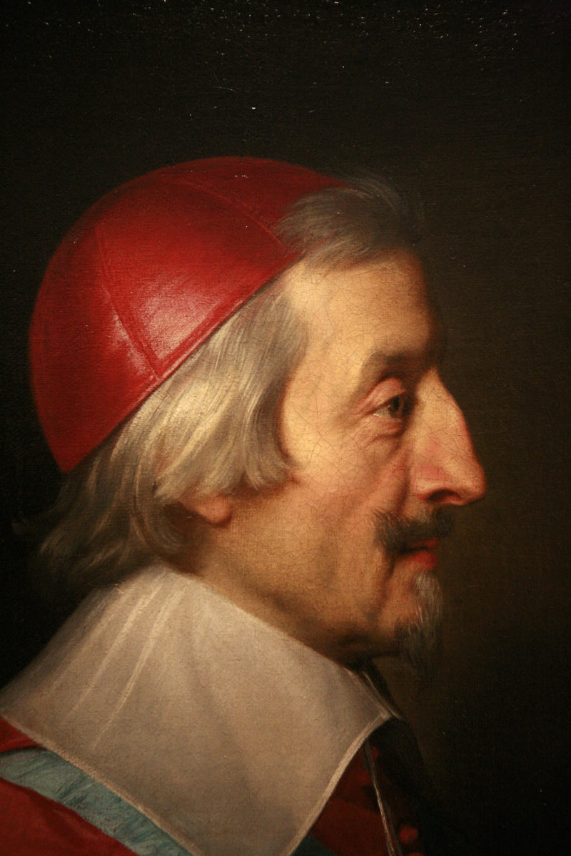 Cardinal de Richelieu 1585 to 1642 French clergyman, and Secretary of State