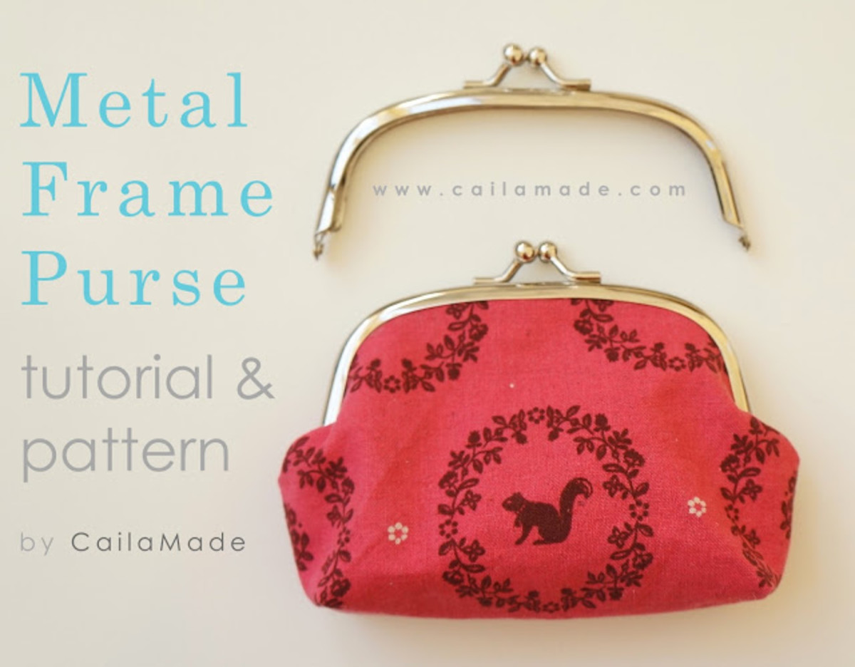 Love Letter Clutch Tutorial & Patten