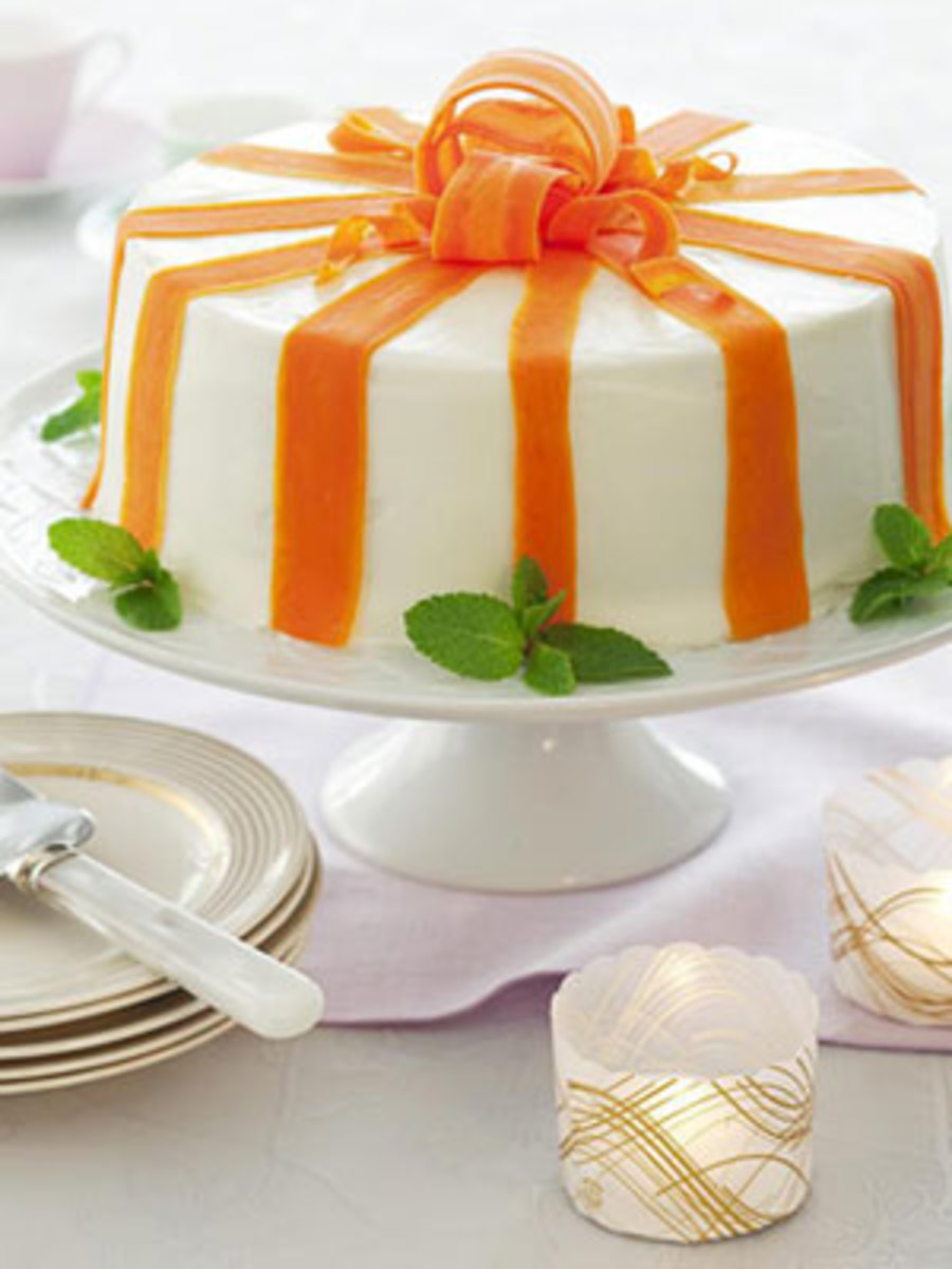 Cake Decoration Carrots : Grandma s Carrot Cake with Orange Cream Cheese Frosting ...