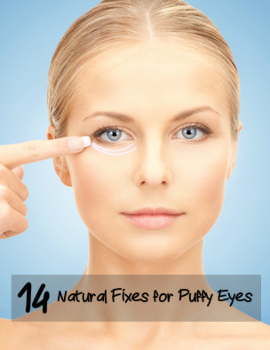 Eliminate puffy eyes with the help of natural remedies and the right products.