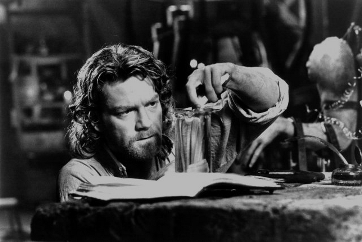 """Kenneth Branaugh as Dr. Victor Frankenstein in the 1994 movie adaptation of Mary Shelley's """"Frankenstein."""""""
