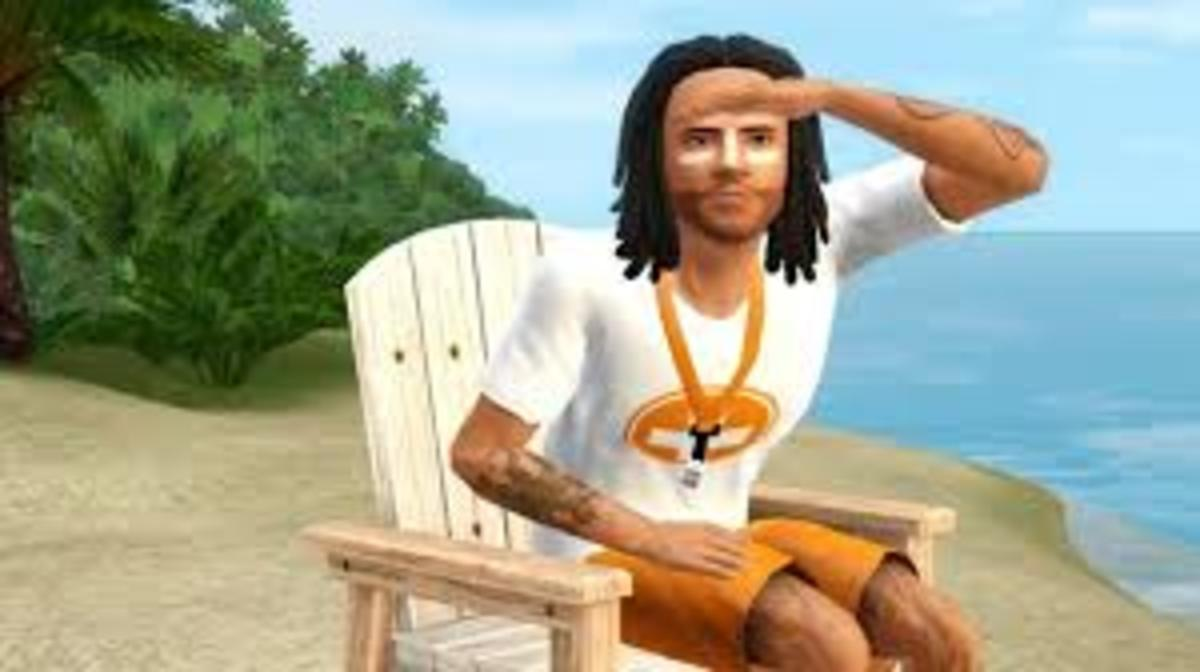 Become a lifeguard in The Sims 3