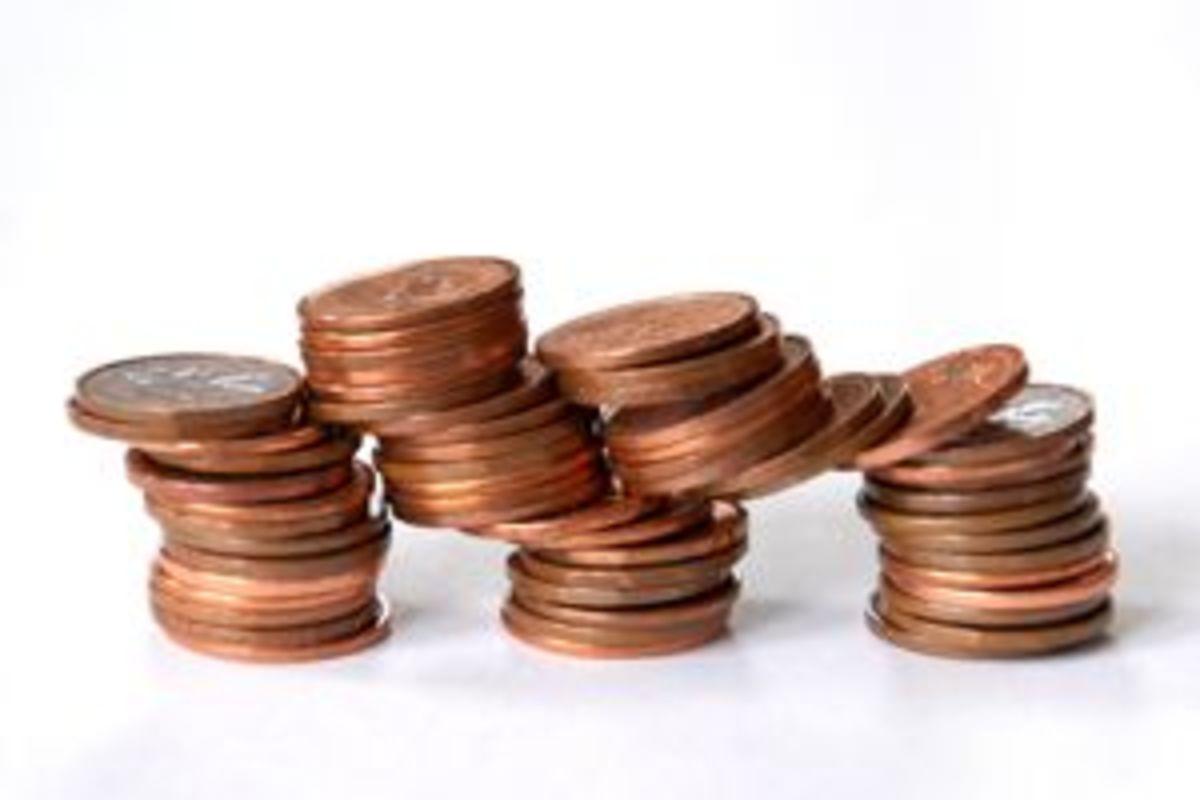 copper pennies