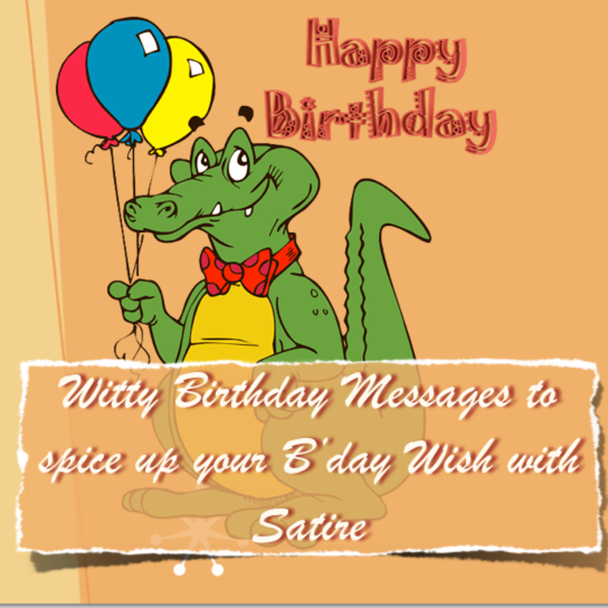 Birthday Wishes for Friends - Witty / Sarcastic / Funny Rhyming Birthday Poems