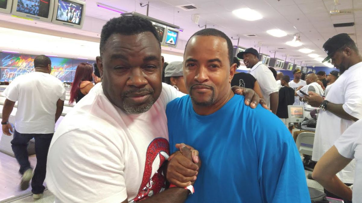 Troy and Comedian Funnyman Rodney Perry