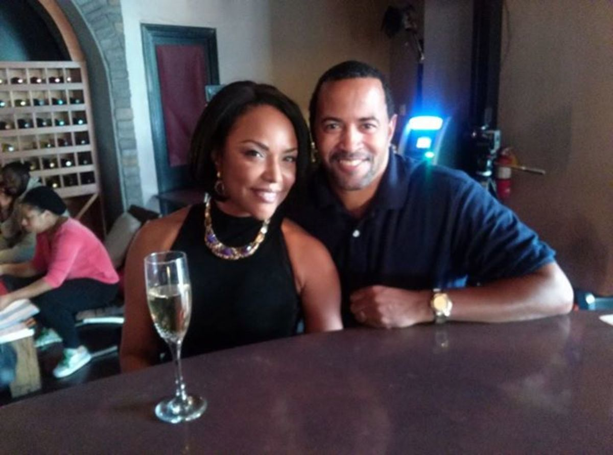 Troy with Actress, Lynn Whitfield