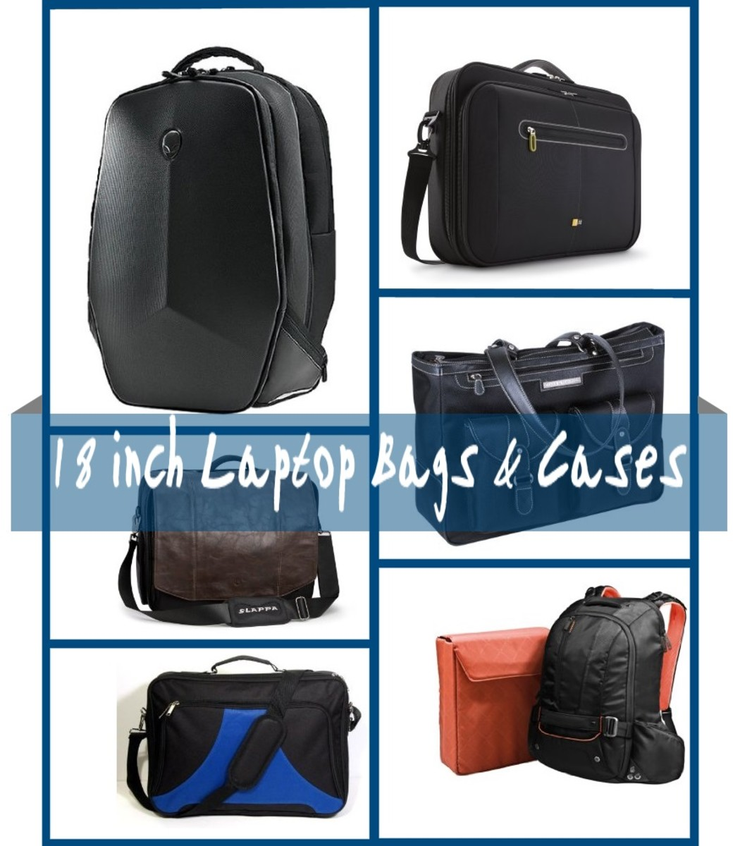 18-inch Laptop Bags and Cases