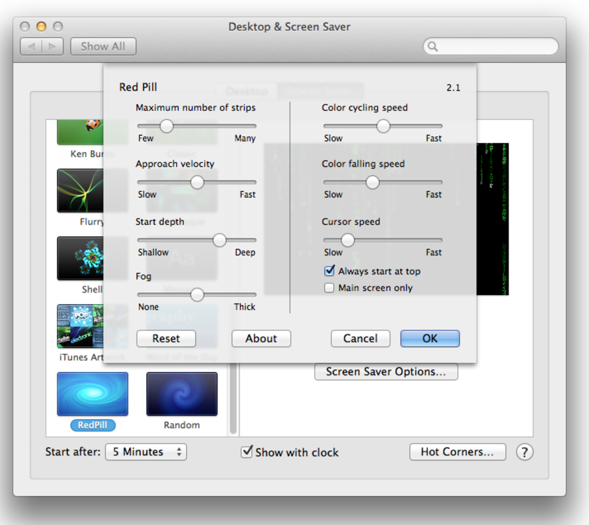 RedPill - Matrix Screen Saver for Mac OS X | HubPages