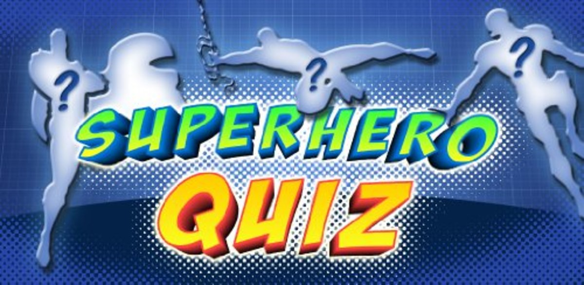 SUPERHERO QUIZ - 100 Questions to test your knowledge