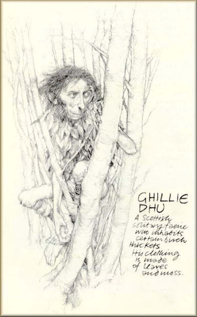 Another look at Ghilie Dhu