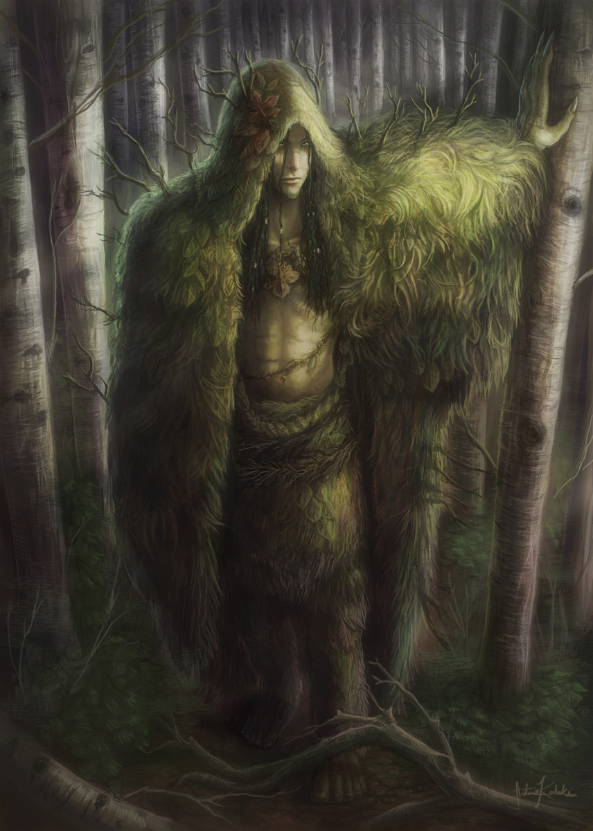 Ghillie Dhu - part of Scottish folklore and myth