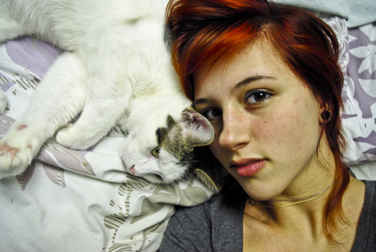 My Cats Purr and Knead Me: Why Do They Do That?