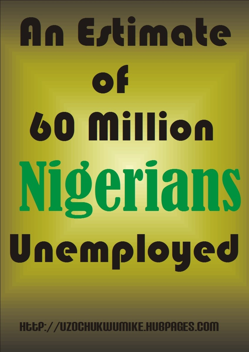 An illustration of Nigerian Unemployment
