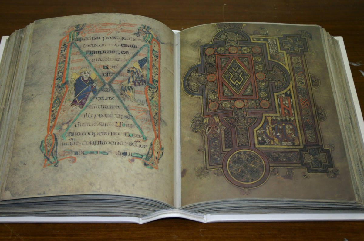 Book of Kells - Ireland's national treasure