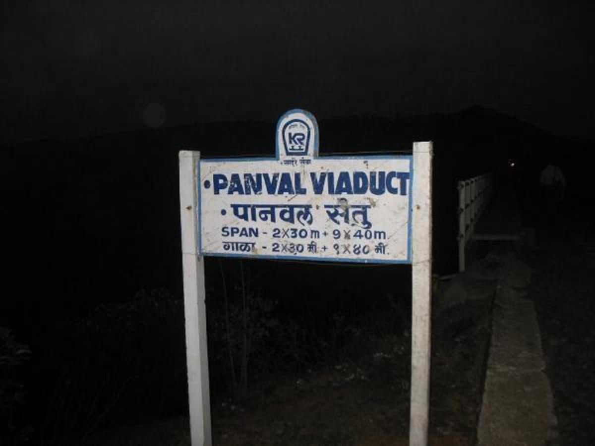 The Display Board of Panval Viaduct