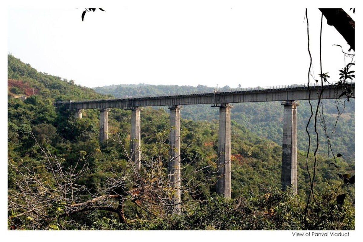 View of Panval Viaduct