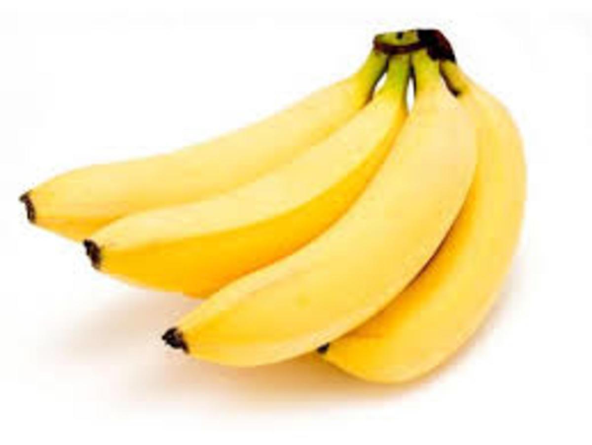 The health benefits of bananas.