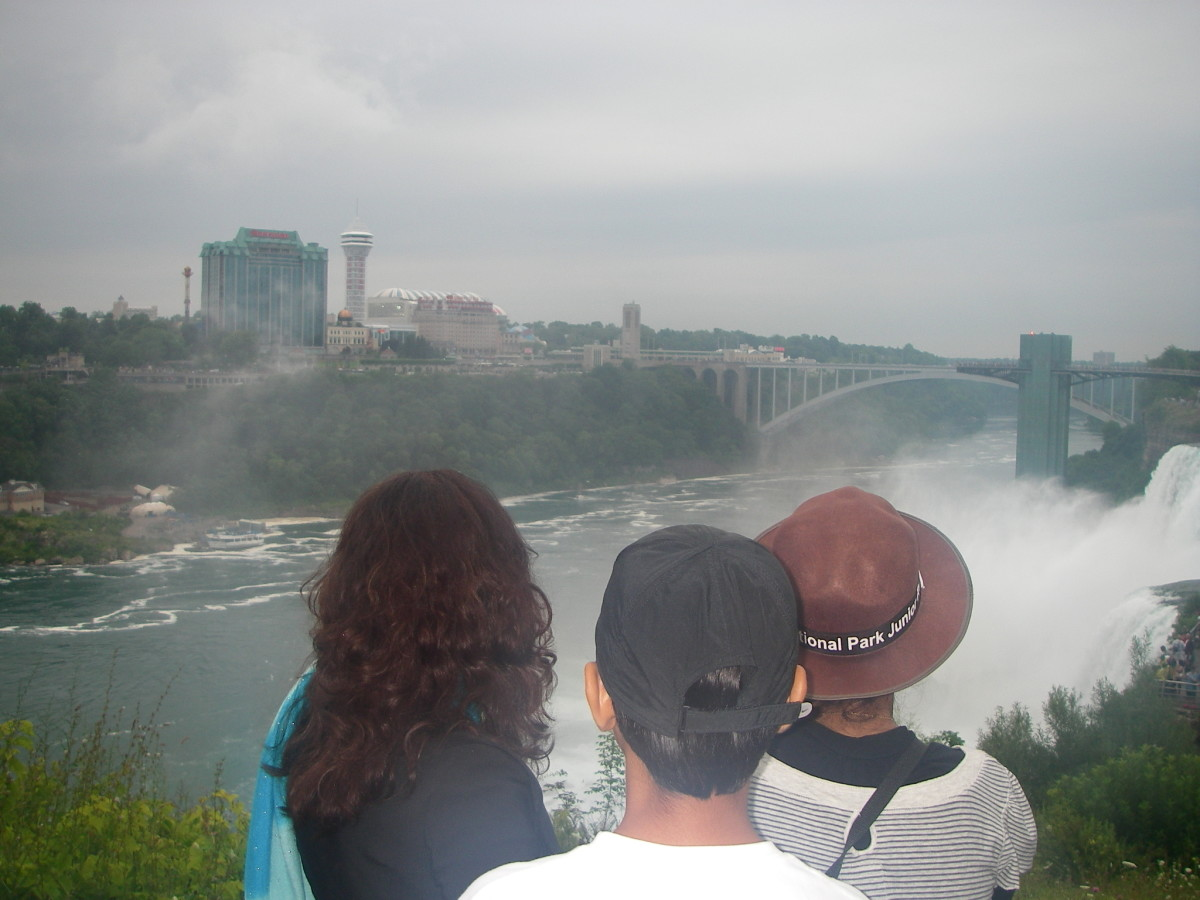 Niagara Falls - what is the difference between US and Canadian sides