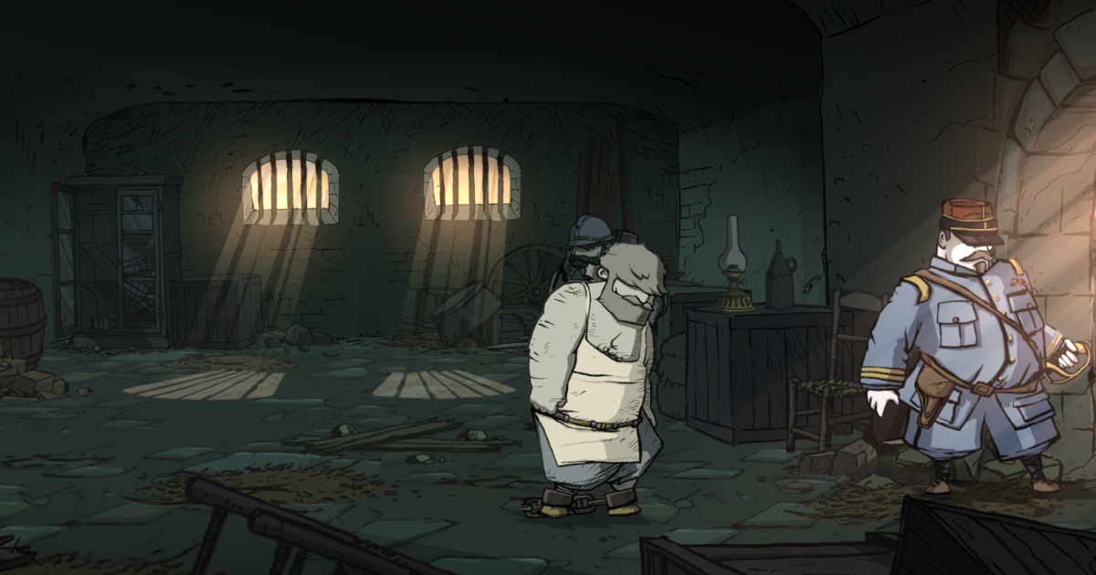 Emile walks to his ultimate fate in Valiant Hearts.