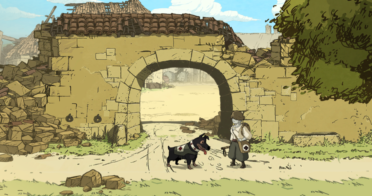 Valiant Hearts Walkthrough, Chapter Four, Part Four: Saint Mihiel, Maizy