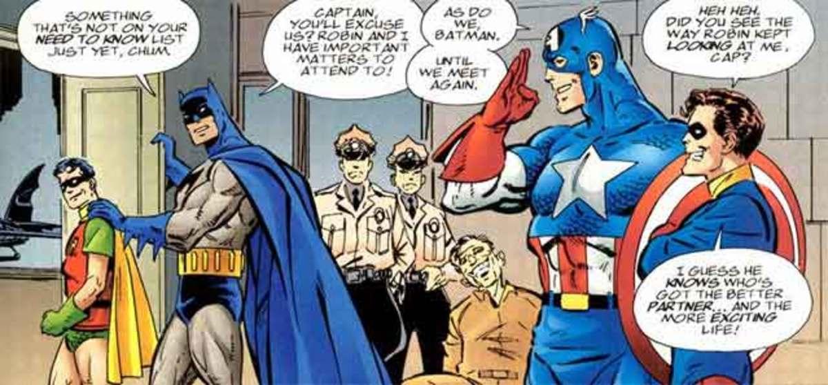 Captain America and Batman Crossover