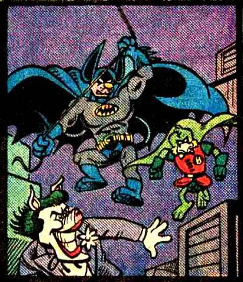 Batmouse and Boyd, The Robin Wonder