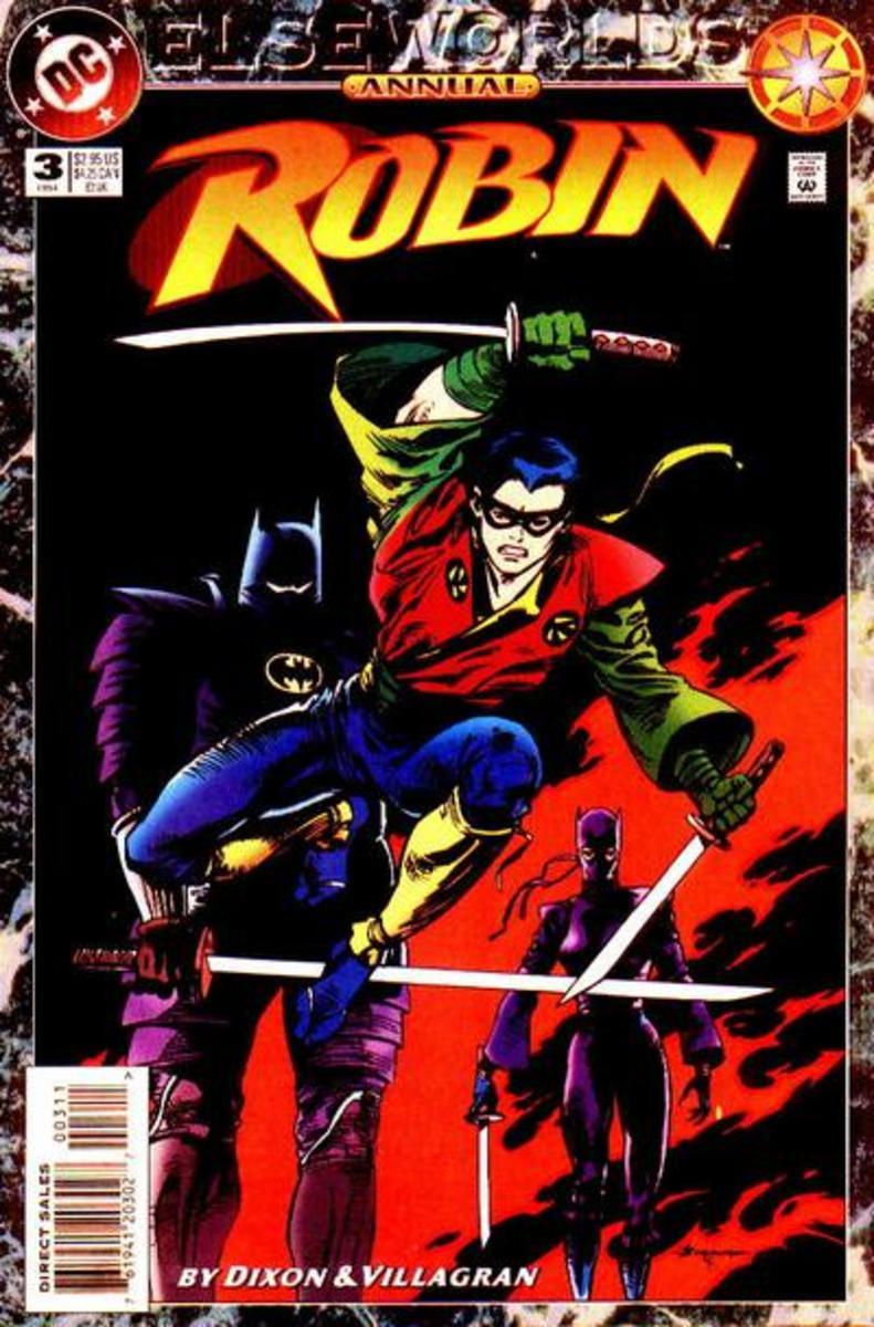Tengu as Robin
