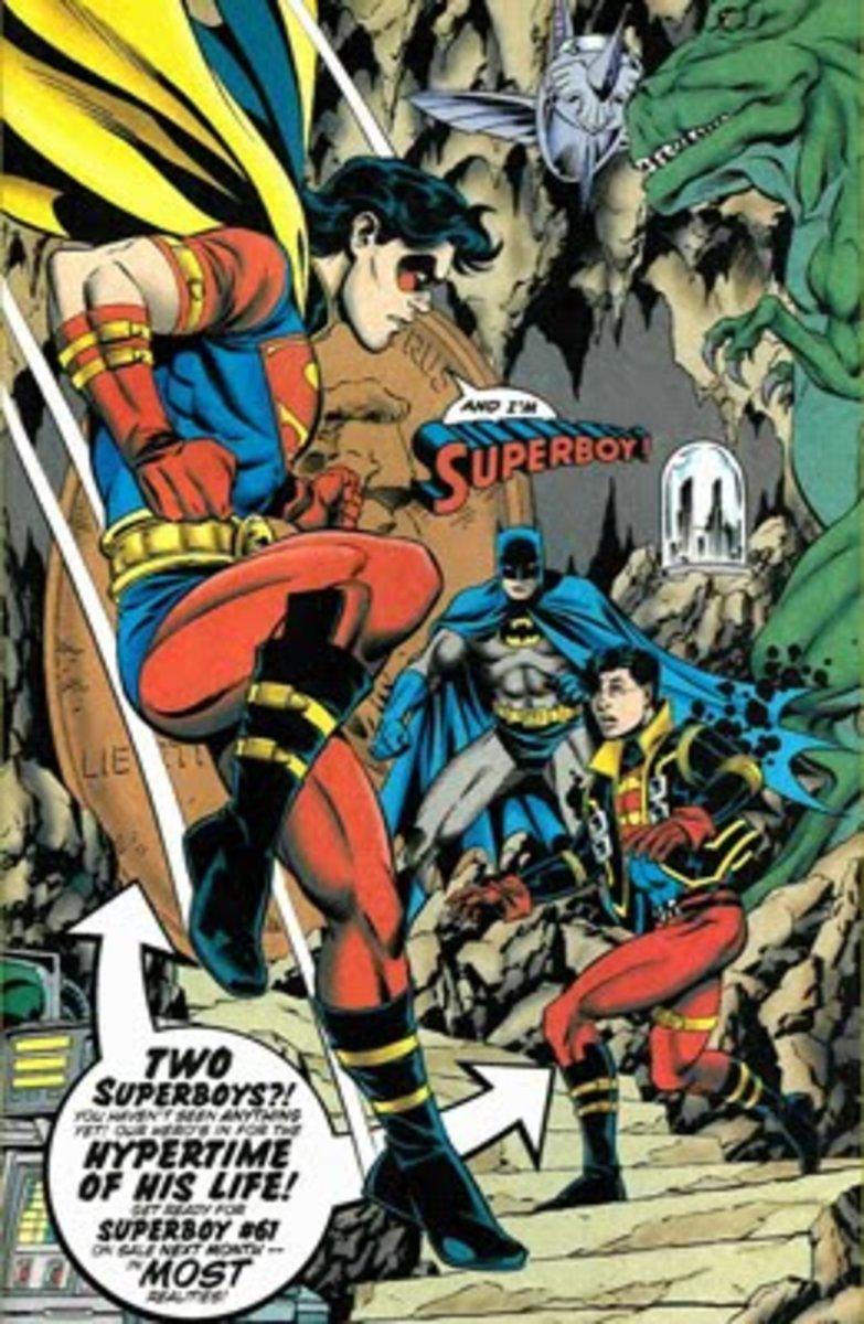 Superboy as Robin