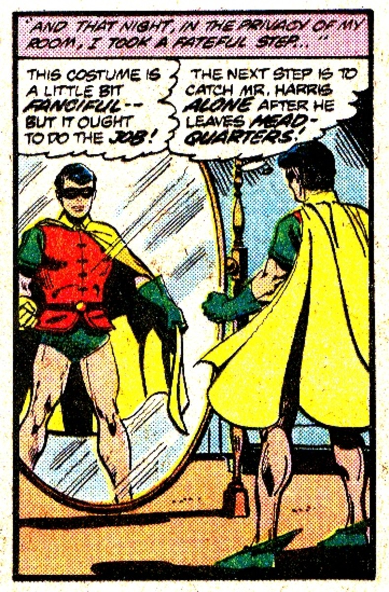 Bruce Wayne first dresses up as Robin in 1950s story before he becomes Batman