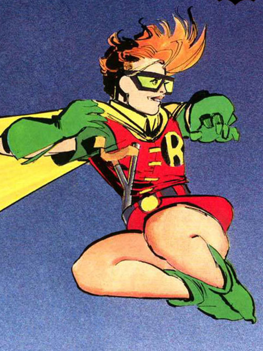 Carrie Kelley as Robin