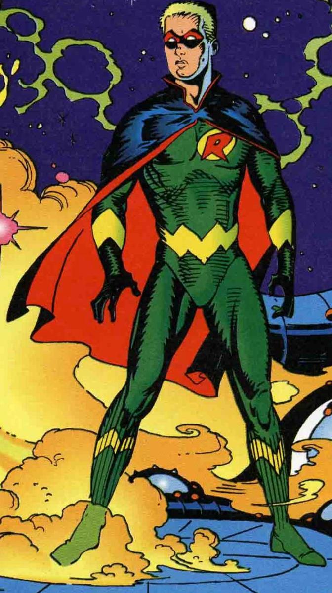 Thomas Wayne as Robin 3000