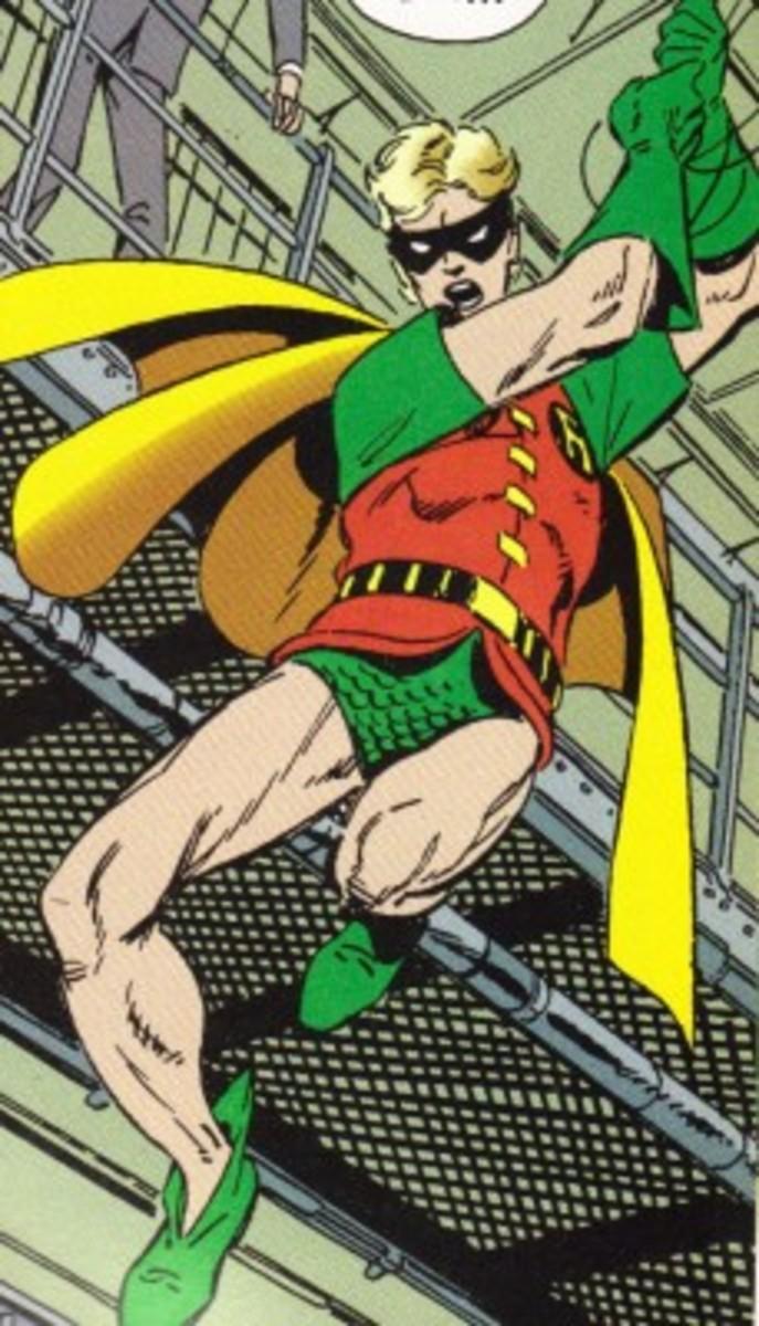 Bruce Wayne Jr. as Robin