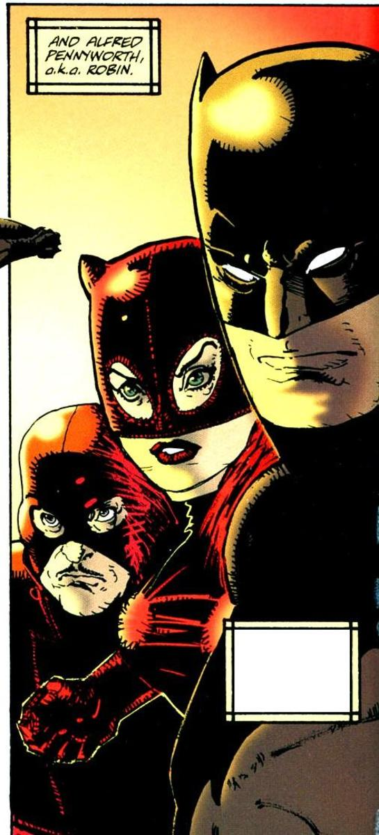 Alfred Pennyworth as Robin