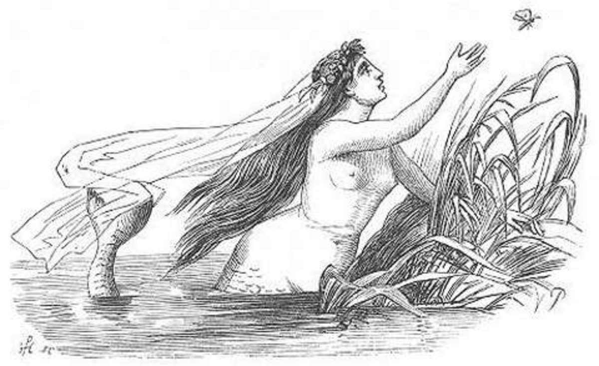 Vilhelm Pedersen's picture of Little Mermaid