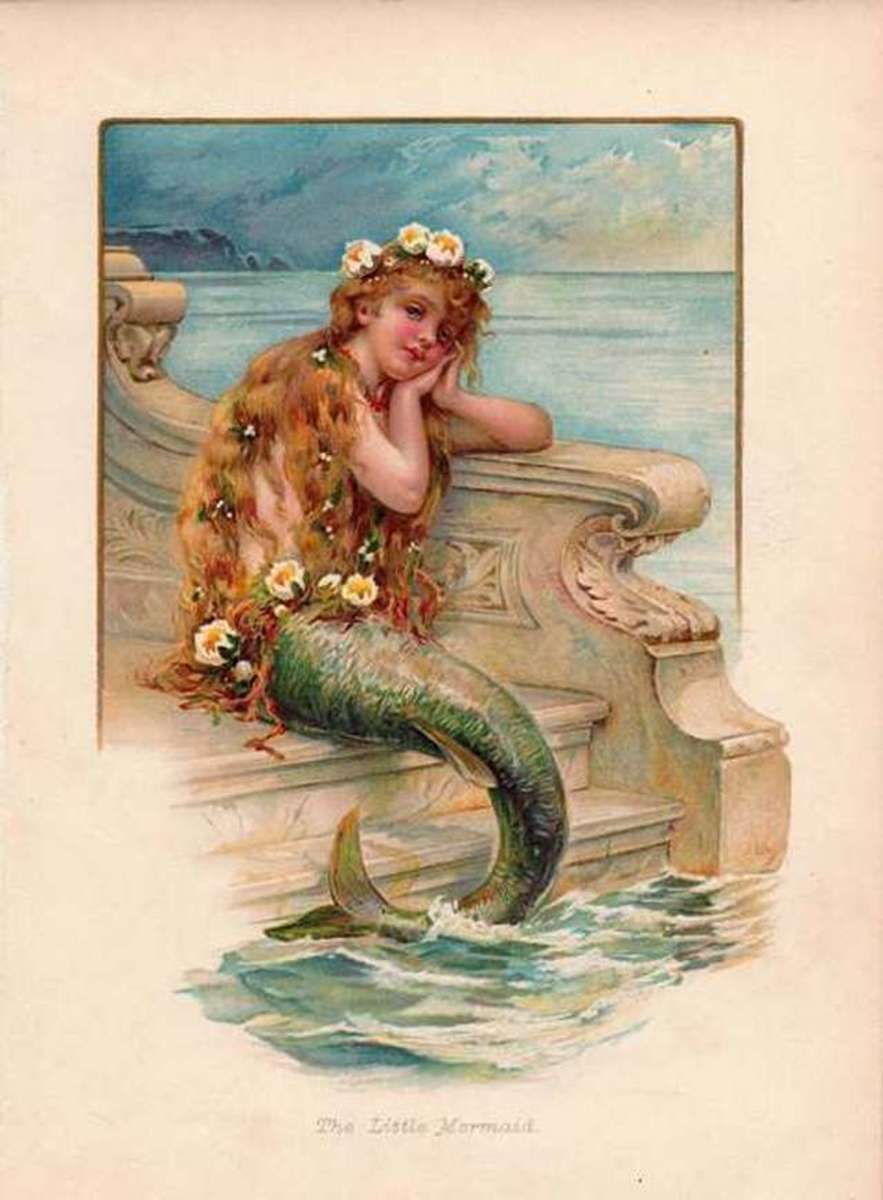 Picture of the Little Mermaid by Evelyn Stuart Hardy