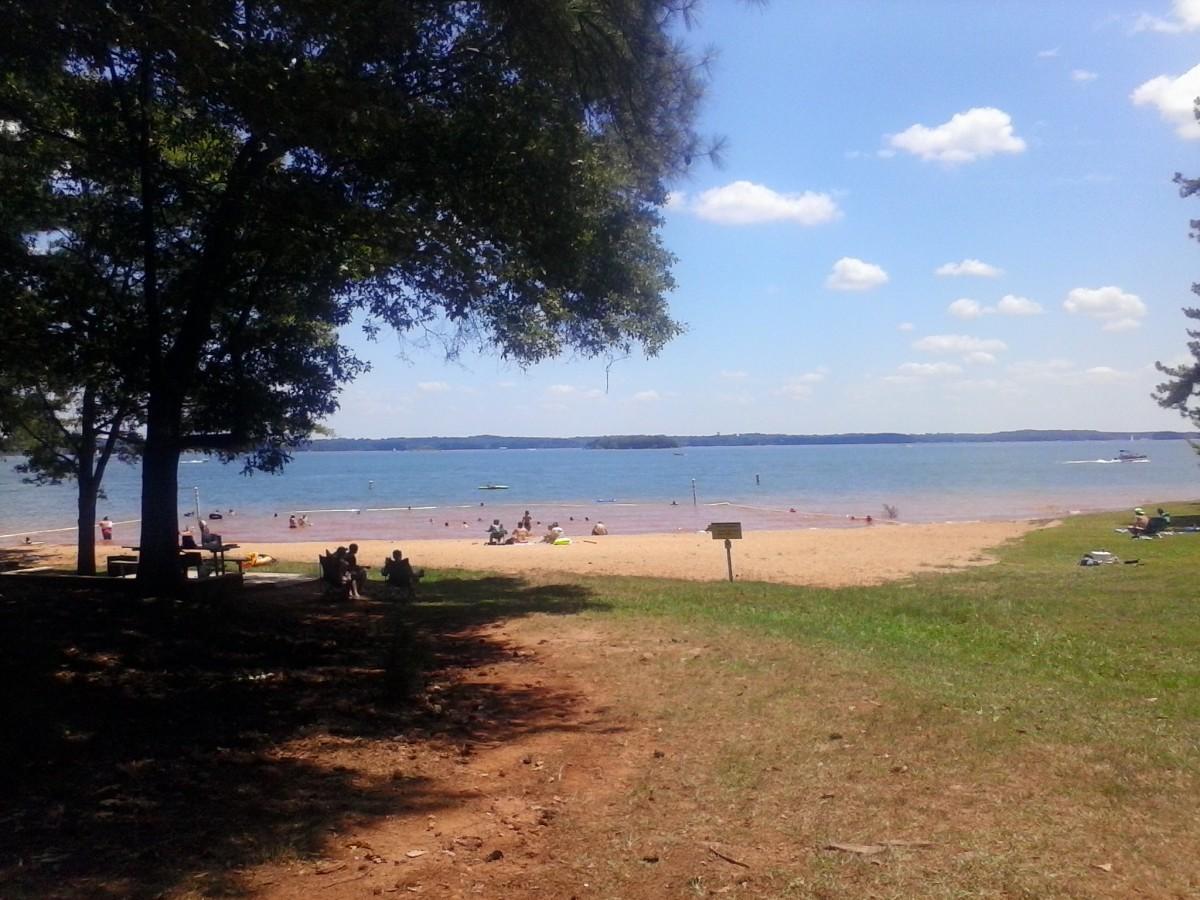 Beach Area at Broyles Recreation Area