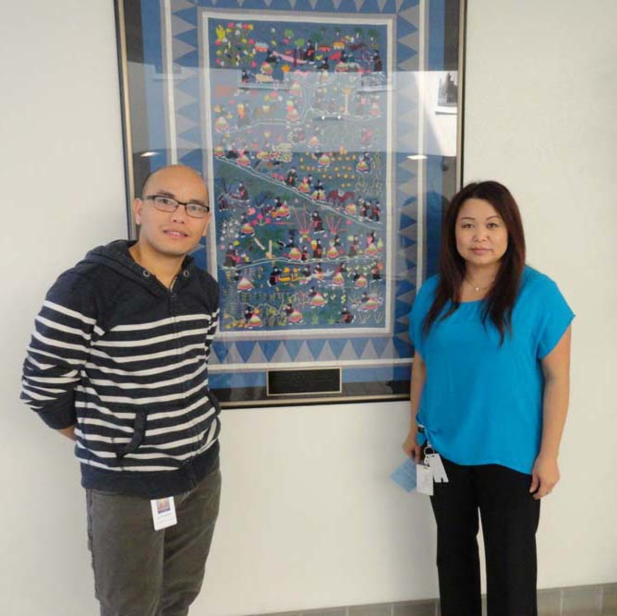 Hmong Story Quilts